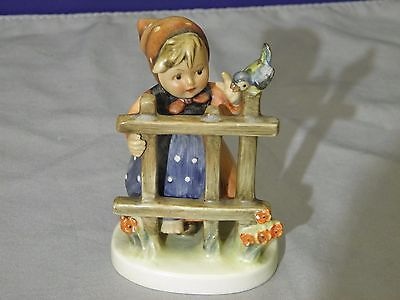 "Vintage Goebel Hummel Figurine #203 2/0 Tmk-3 ""signs Of Spring"""
