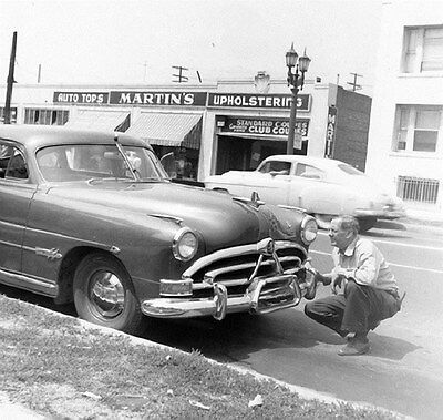 1951 Hudson Hornet Factory Photo ca6355