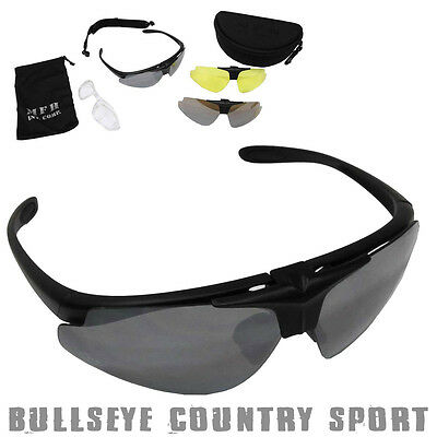 MFH Sports Safety Eye Protection Glasses Airsoft Cycling Shooting CE 25823