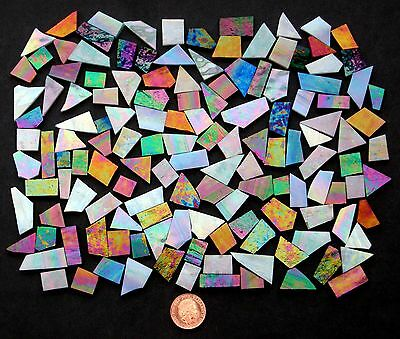 Stained Glass Mosaic glass (Various colours) cut off glass small pieces of glass