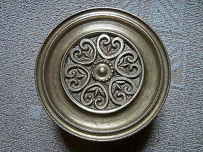Greece vintage solid brass large door knob handle pull & push only - D16