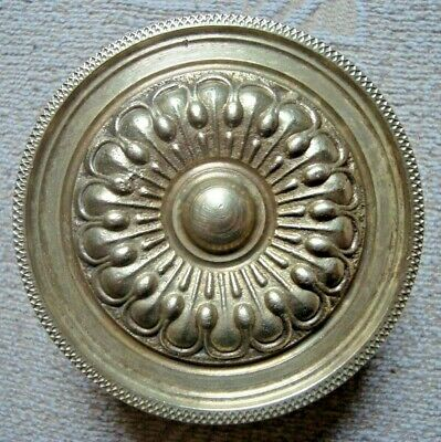 Greece vintage solid brass large door knob handle pull & push only - D15