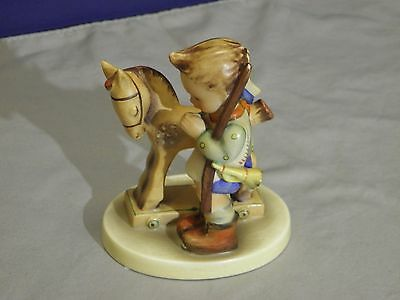 "Vintage Goebel Hummel Figure #20 Tmk-3 ""prayer Before Battle""  Figurine"