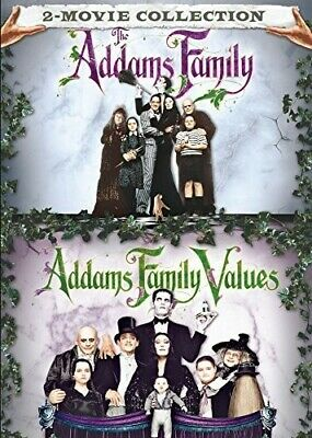 Addams Family / Addams Family Values - 2 DISC SET (2017, REGION 1 DVD New)