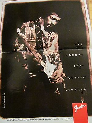 Jimi Hendrix, Two Page Centerfold Poster