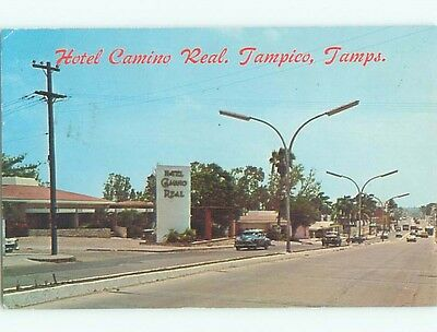 Pre-1980 OLD CARS & SHOPS ON STREET Tampico - Tamps MEXICO n1042