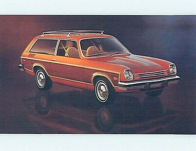 Unused 1977 car dealer ad postcard CHEVROLET VEGA ESTATE WAGON o8163