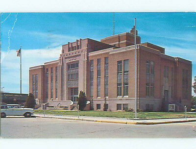 Bent Corner Pre-1980 OLD CARS & COURT HOUSE Portales New Mexico NM n4390