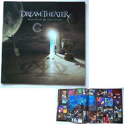 Dream Theater! Black Clouds Silver Linings 2009 Tour Book New Nos