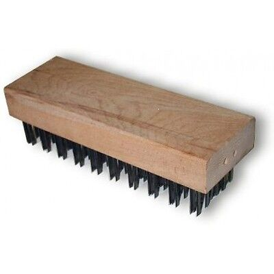 "Weller No. 44073 Butcher Block Brush, 1-1/4"" Trim Length  Flat Wire  New"