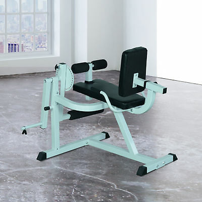 """44.5"""" Strength Bench Home Gym Fitness Workout Machine  Leg Extension and Curls"""