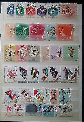 C849. Hongrie. Magyar. 2 Pages Timbres Obliteres