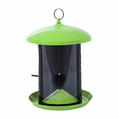 Hanging Bird Feeder Garden Outdoor Wild Squirrel Proof Seed Feeder Pet Supplies