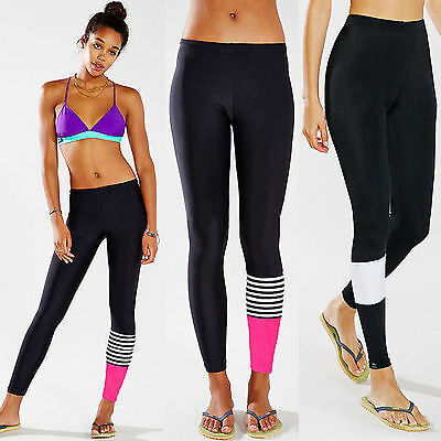 Womens Yoga Fitness Running Leggings Gym Exercise Sports Stretch Pants Trousers