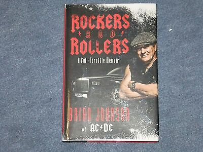Brian Johnson Ac/dc Signed Book