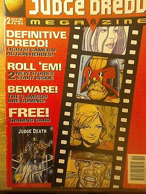 Fleetway Editions Comic.Judge Dredd.Issue #2 Aug.4th 1995.Including Trading Card