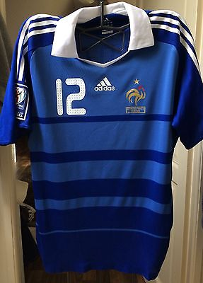 MAILLOT PORTE FRANCE - AUTRICHE 2009 match worn shirt  Thierry HENRY FFF
