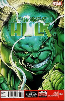SAVAGE HULK #4 (Marvel 2014 1st Print)