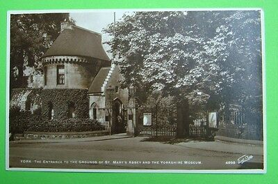 The Entrance to the Grounds of St Mary's Abbey & the Yorkshire Museum  -  age?