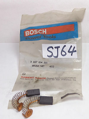 New Oem Original Replacement Part Bosch Brush Set Router 3607014501 652