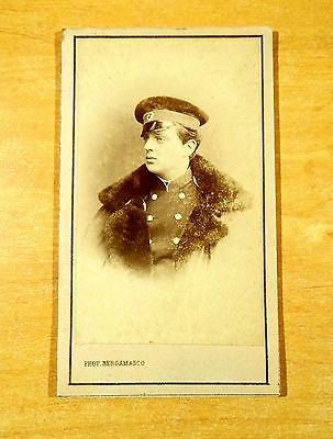 Grand Duke Vladimir Alexandrovich of Russia cdv Bergamasco Photo 1860's ROYALTY