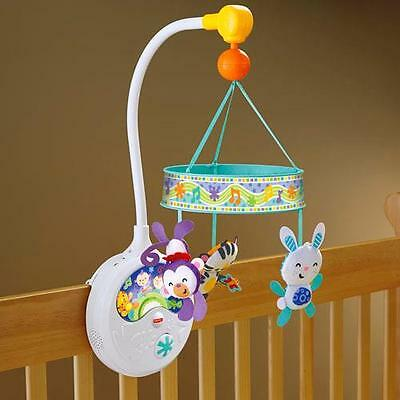 New Fisher Price Sing Along Deluxe Musical Crib Mobile Baby Infant 0-5 Months