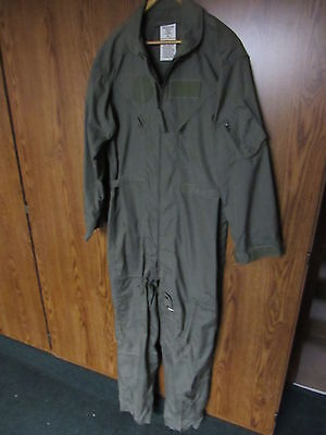 US ARMY Summer weight Coveralls Flyers Size 46 long 46L VGC fire resistant