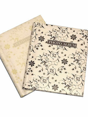 2 X Self Adhesive Large Photo Albums Wedding Holds 320 Photos 160 Per Book