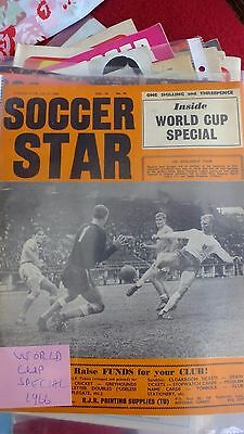 SOCCER STAR FOOTBALL MAGAZINE - 15/7/ 1966 world cup special