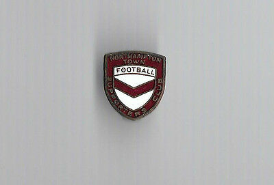 Vintage Football Badge - NORTHAMPTON TOWN FOOTBALL SUPPORTERS CLUB