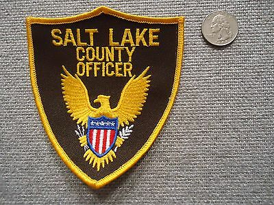Salt Lake County Officer Patch