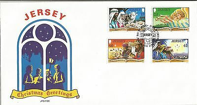 One Penny Arcade Jersey 1994 Christmas FDC