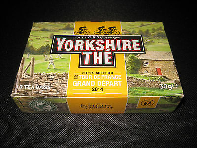 Tour de France 2014 Grand Depart Yorkshire The 10 Tea Bags Sealed Special Ed