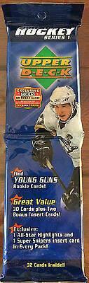 2007-08 Upper Deck Ud Series 1 Hockey Nhl Fat Pack Price Kane Young Guns ????