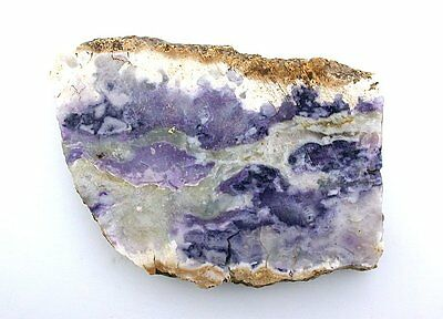 164.5 Grams Aaa Sonoran Tiffany Stone Bertrandite Opal Fluorite Purple Fs10