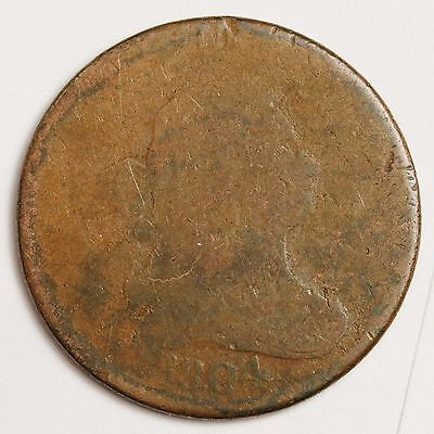1804 Half Cent.  Circulated.  103382