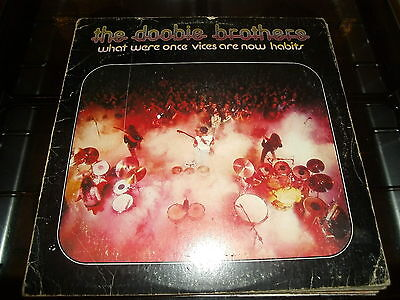 THE DOOBIE BROTHERS - WHAT WERE ONCE VICES       Vinyl LP       (Warner 1974)