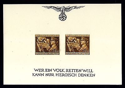 14140-GERMAN EMPIRE-BLOCK SHEET stamp.DEUTSCHES REICH.REPRINT.Reproduction.COPY.