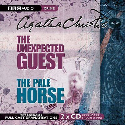 The Unexpected Guest & The Pale Horse by Agatha Christie (Audiobook CD)