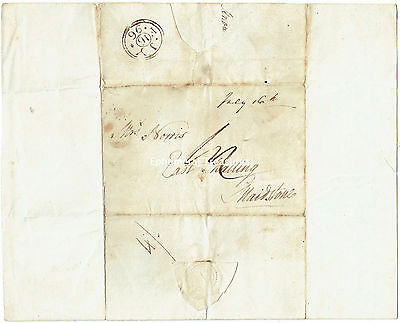 1796 Entire to Mrs Norris, East Malling, Maidstone, Kent