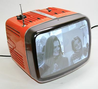 RARE '60th TELEVISION BRIONVEGA DONEY +SHIPPING BOX +DOCUMENTS VINTAGE SPACE AGE