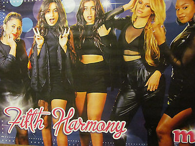 Fifth Harmony, Shawn Mendes, Double Full Page Pinup