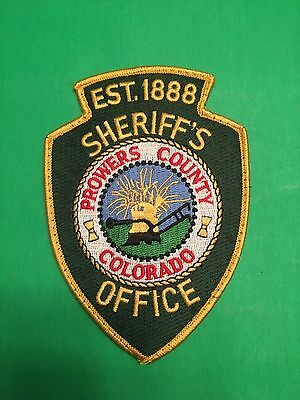 Prowers County Colorado Sheriff  Shoulder Patch