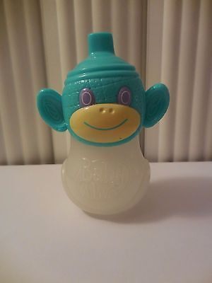 Baby Alive Replacement Sippy Cup Juice Bottle Monkey Top Htf Hasbro