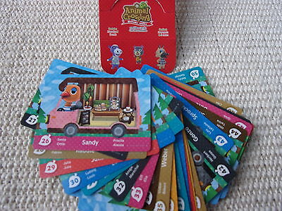 Animal Crossing Trading cards New Leaf 26 - 50 selectable ohne