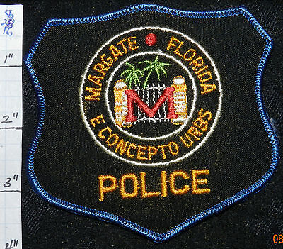 Florida, Margate Police Dept Patch