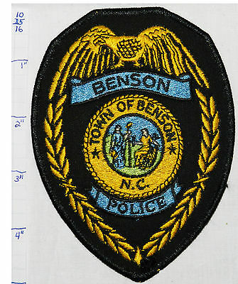 North Carolina, Benson Police Dept Eagle Patch