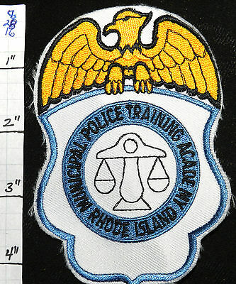 Rhode Island Municipal Police Training Academy Patch