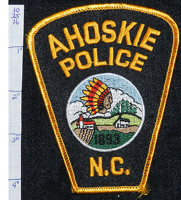 North Carolina, Ahoskie Police Dept Black & Gold Patch