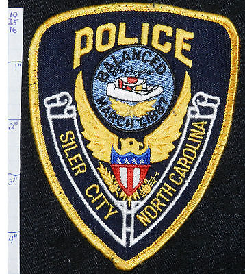 North Carolina, Siler City Police Dept Patch